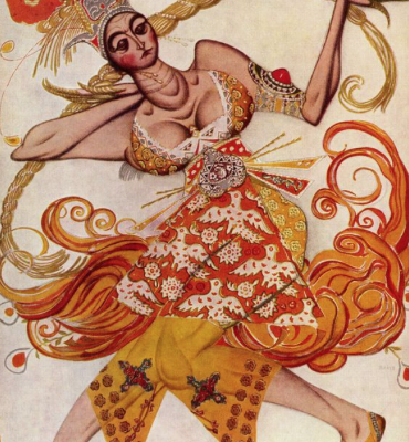 Design Heroes, part one- Leon Bakst